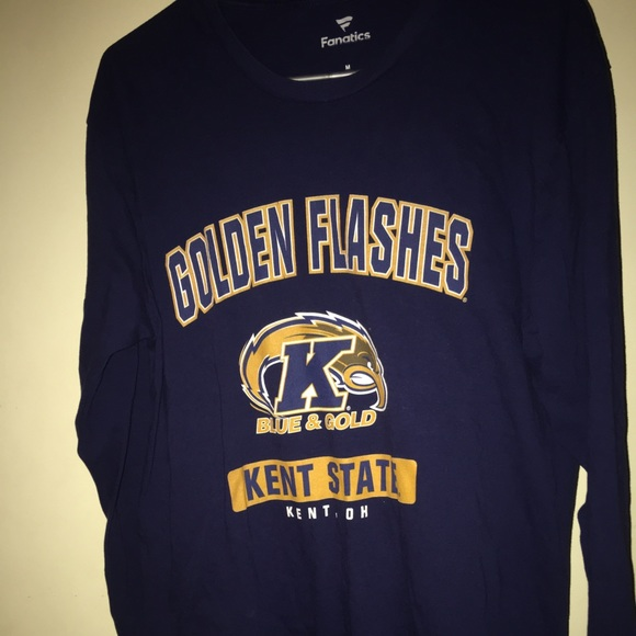 quality design 53de7 f5531 Kent State Golden Flashes Long sleeve shirt